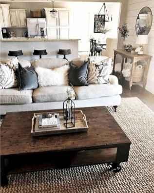 64 cozy farmhouse living room rug decor ideas