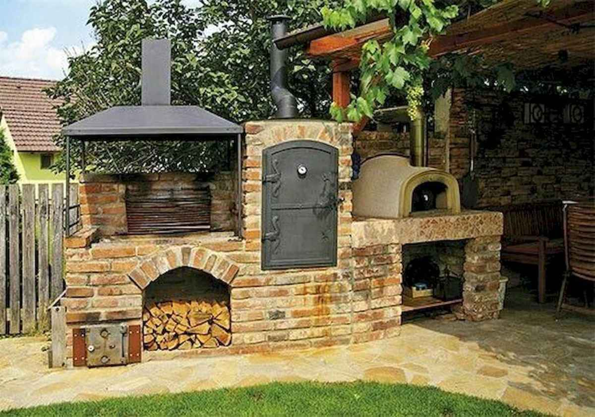 66 fantastic outdoor kitchen design for your summer ideas