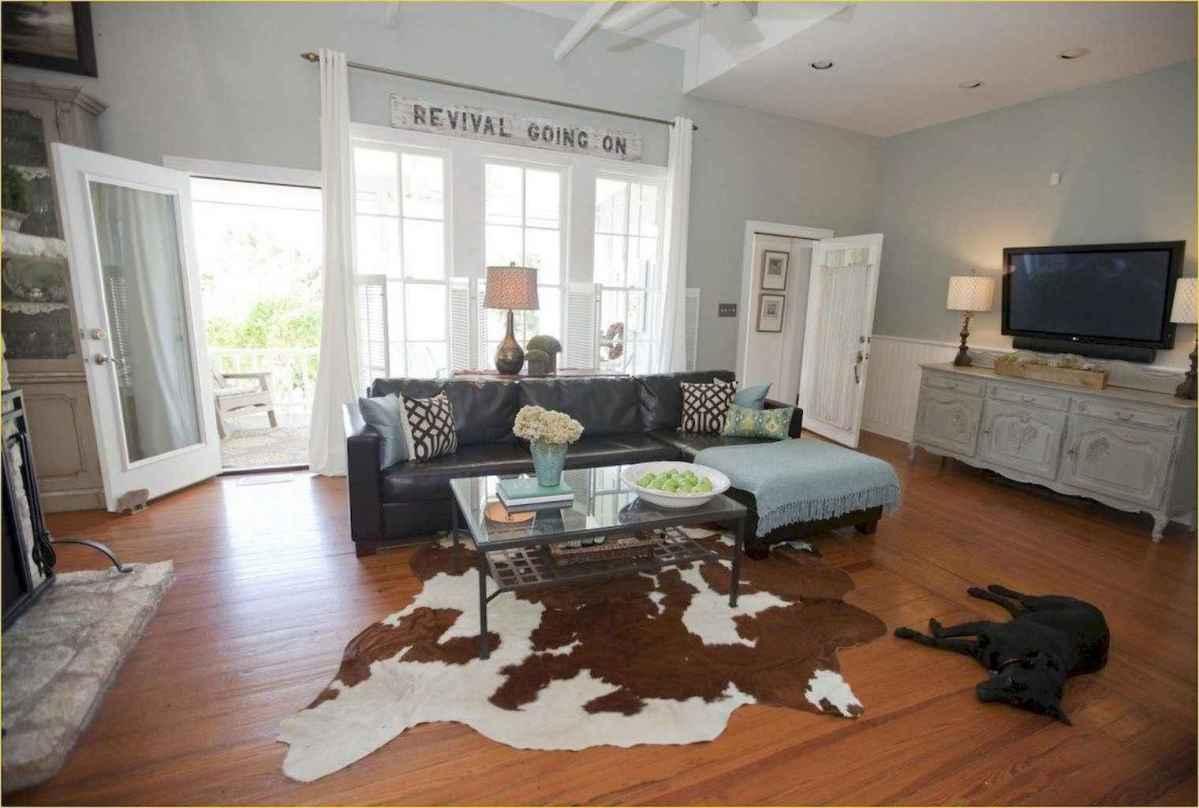 68 cozy farmhouse living room rug decor ideas