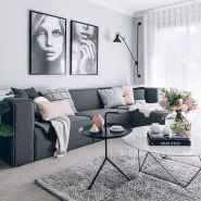73 cozy farmhouse living room rug decor ideas