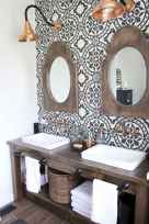 74 beautiful farmhouse bathroom remodel ideas