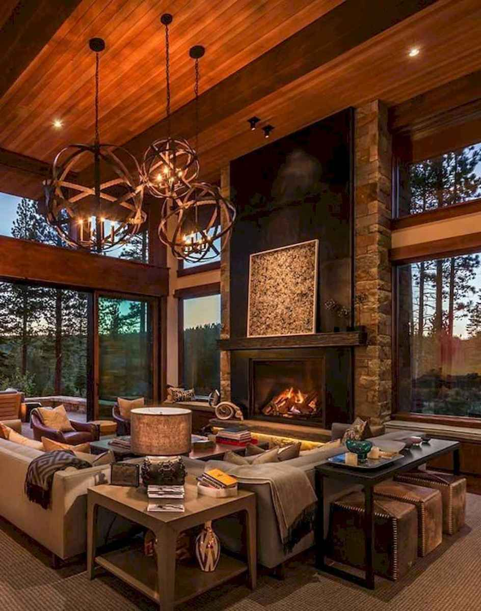75 best cozy farmhouse living room lighting lamps decor ideas
