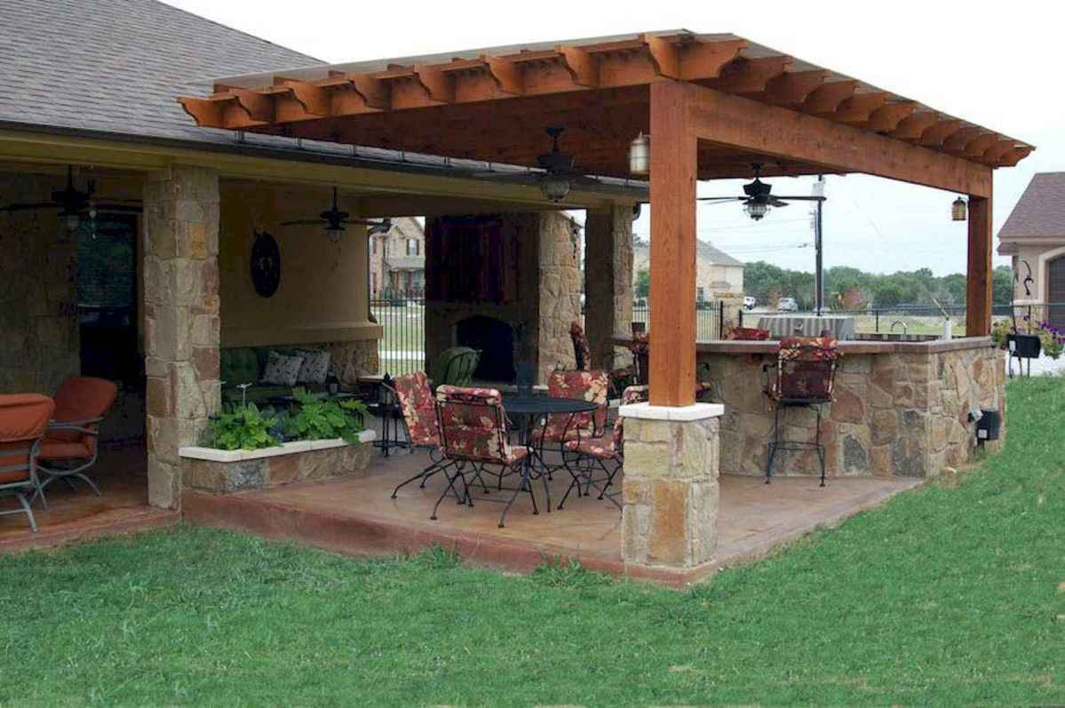 77 fantastic outdoor kitchen design for your summer ideas