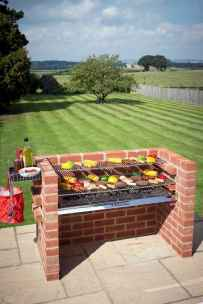 79 fantastic outdoor kitchen design for your summer ideas
