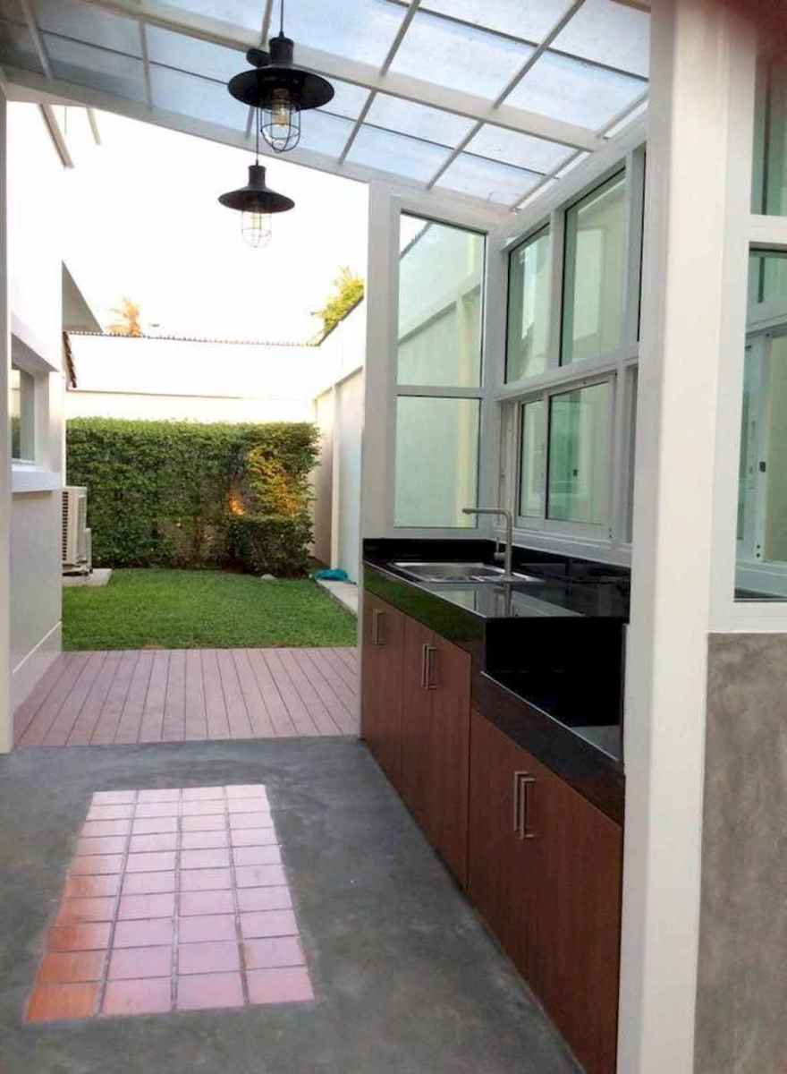 80 fantastic outdoor kitchen design for your summer ideas
