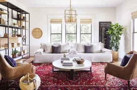 86 cozy farmhouse living room rug decor ideas
