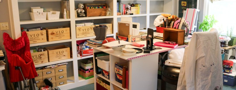 One Room Challenge Week 4 - Decluttering and Organizing | Homespun by Laura