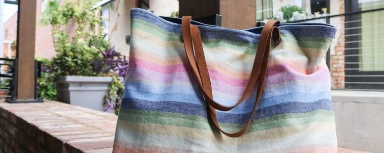 how to make a computer tote bag from an old blazer refashion