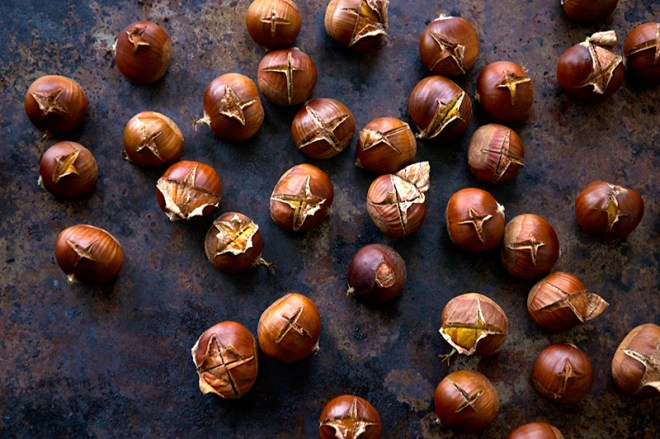 How to Roast Chestnuts - Homespun Capers
