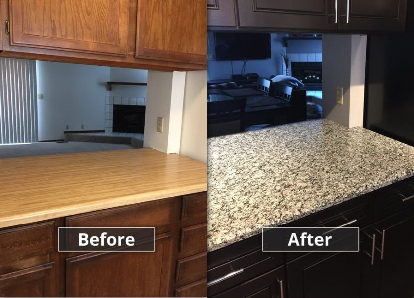 Discount Kitchen Cabinets in Denver  CO   60  Off Cabinets Kitchen Before and After