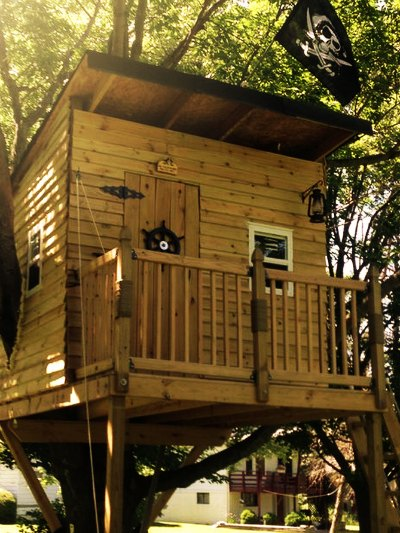 DIY Pirate Hideout Treehouse Homestead Amp Survival