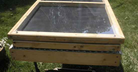 Diy Solar Food Dehydrator