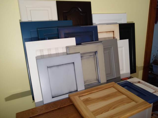 Painted Cabinet doors