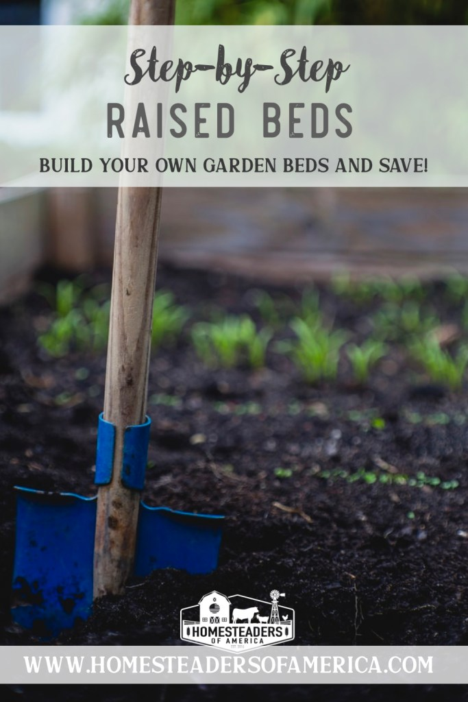 Learn how to build a simple cedar raised bed for your garden! Get the tools & materials needed and check out these step-by-step instructions.
