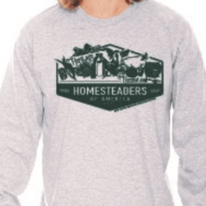 HOA Grey Long Sleeved T Shirt
