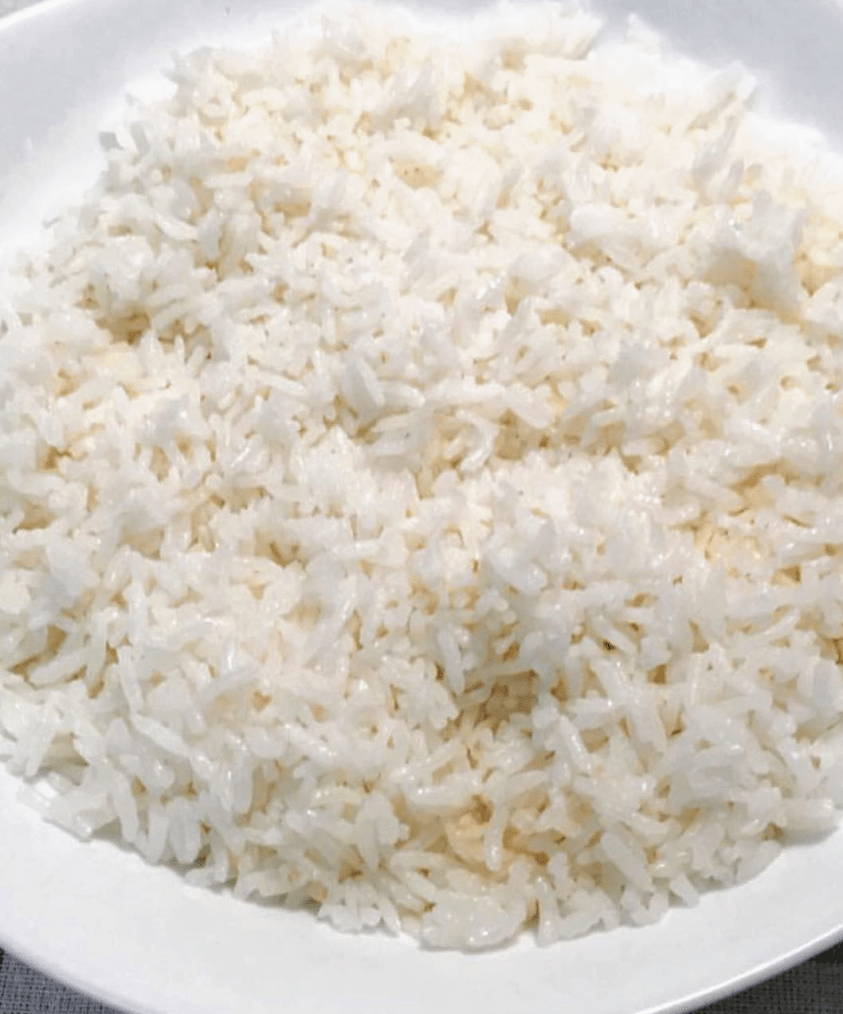 in the rice cooker