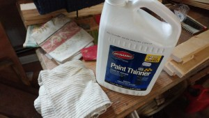 supplies to clean wood polishing
