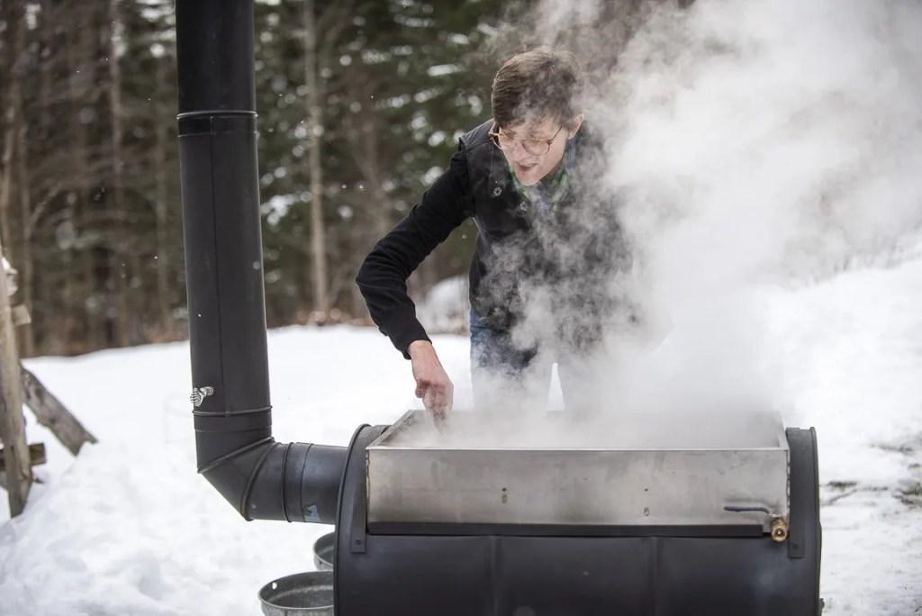choosing a vessel for boiling sap