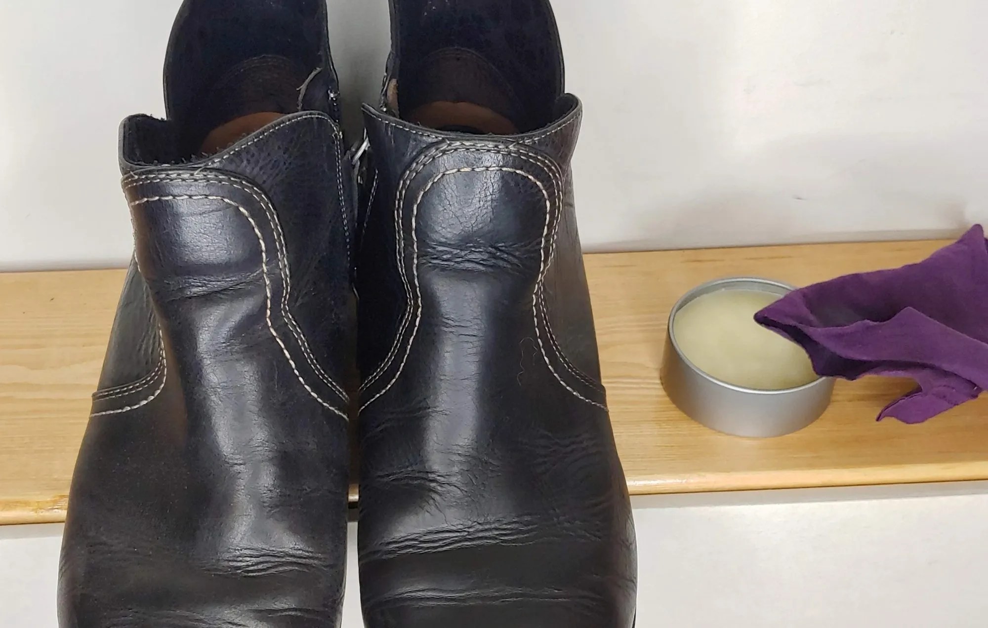 How to Make Beeswax Leather Conditioner & Shoe Polish