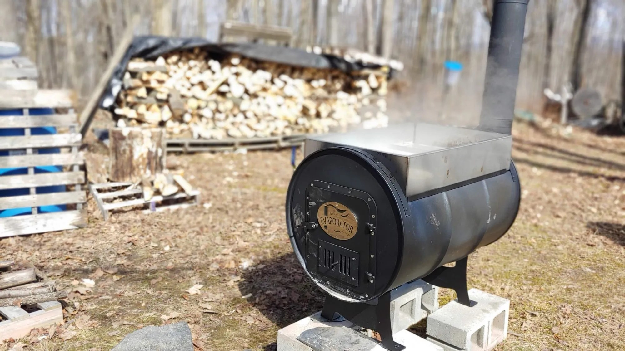 How to Boil Sap more Efficiently