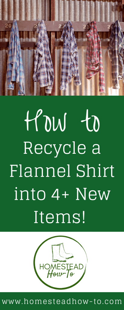 How to Recycle a Flannel Shirt PIN