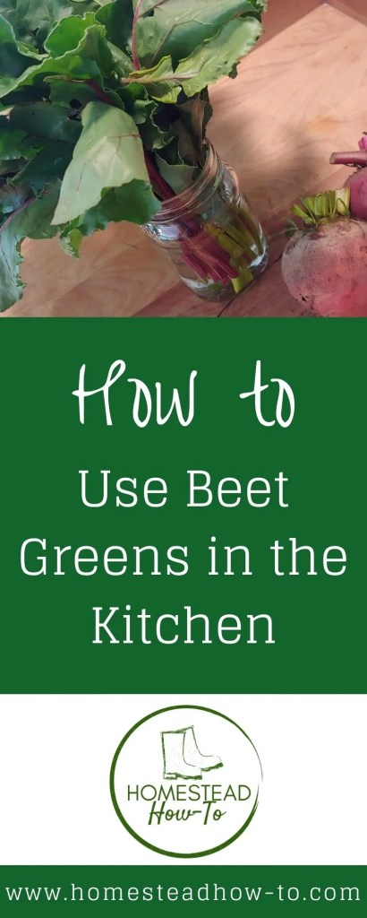 How to use Beet Greens in the Kitchen