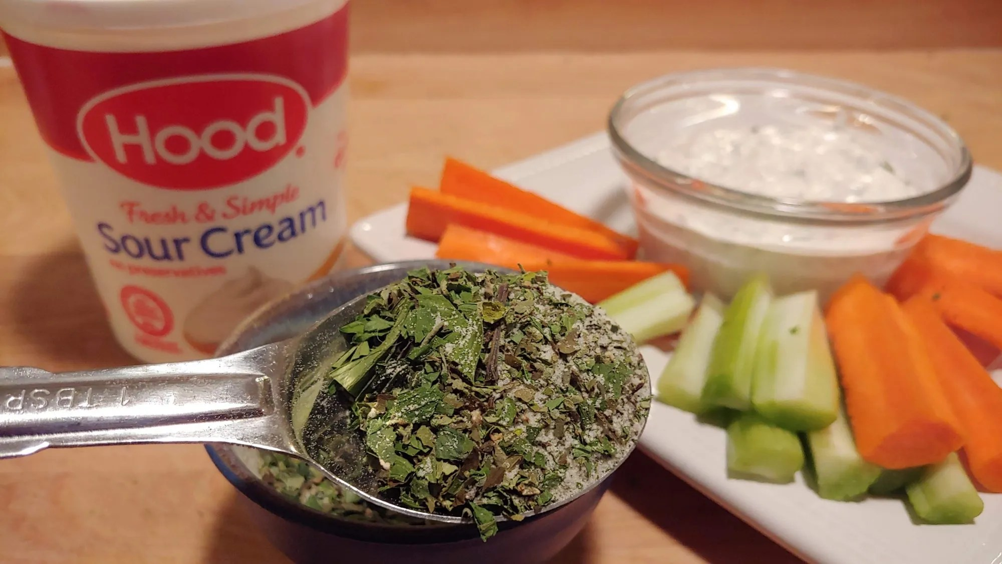 homemade dip mix