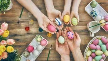 Check out 32 Easter Egg Designs & Ideas For Homesteaders at https://homesteading.com/easter-egg-designs-homesteading/