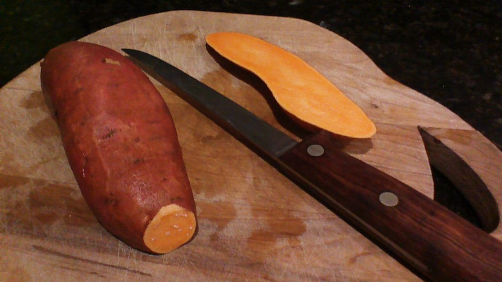 Roasted Sweet potatoes 1