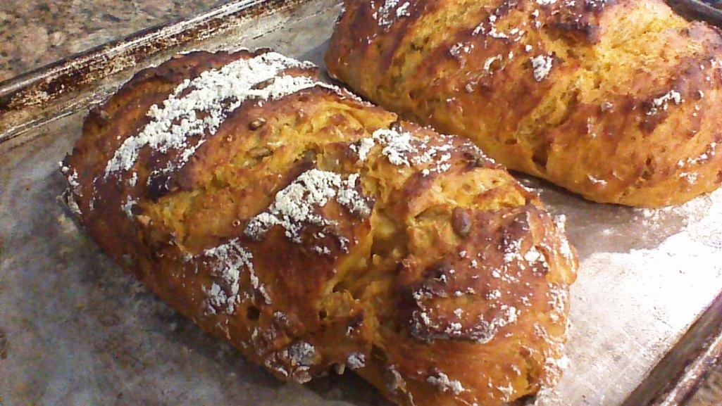 pumpkin oatmeal bread 6