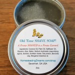 Old Time Shave Soap - Homesteading Dreams Shop