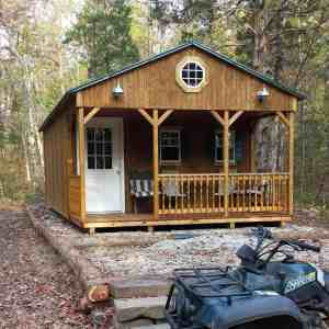Homesteading for women cabin