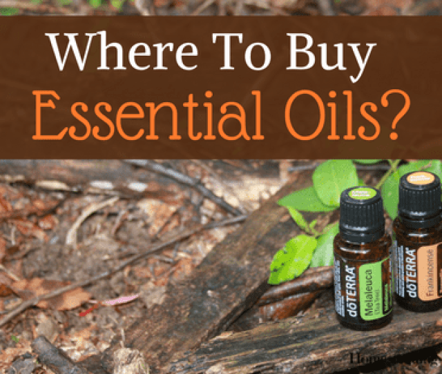 Where To Buy Essential Oils