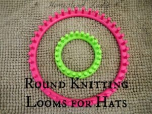 Knitting looms for hats
