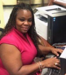 Ms. Nixon South Region Finalist Office Employee of the Year