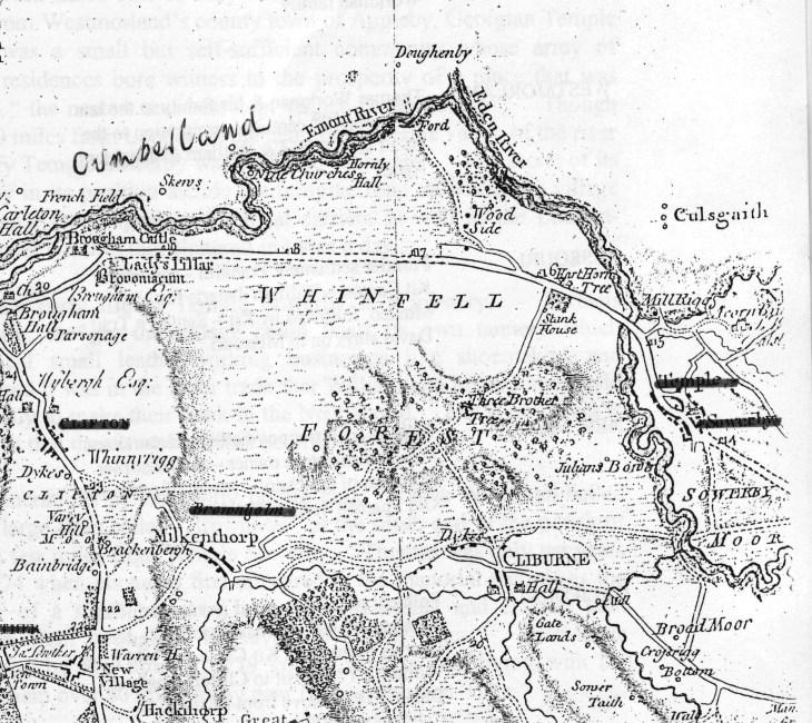 Westmorland map