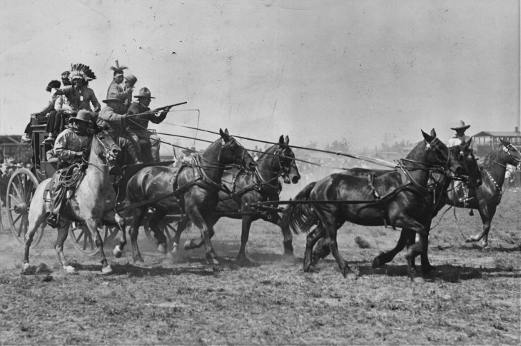 1927-admission-day-cowboys-indians-photo