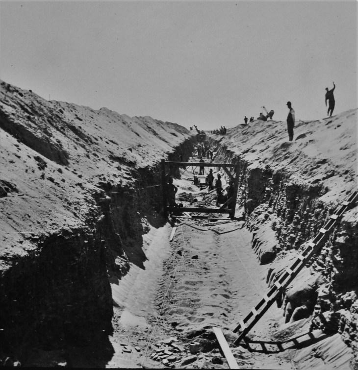 LA Aqueduct construction 2