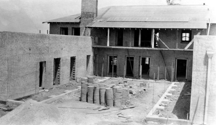 La Casa Nueva Construction South Of Courtyard 99.5.35.1001