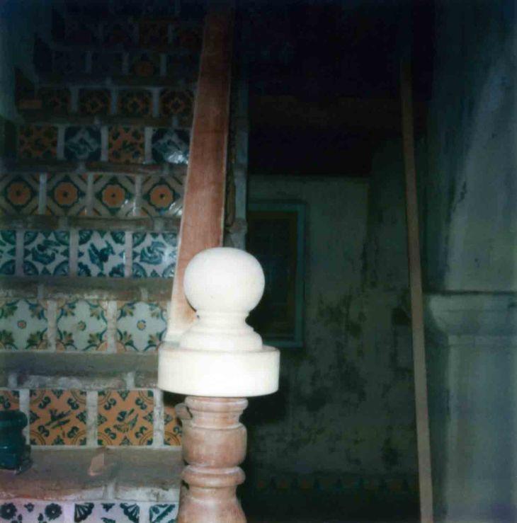 La Casa Nueva Courtyard Stairs Newel Post Replacement 99.5.33.84