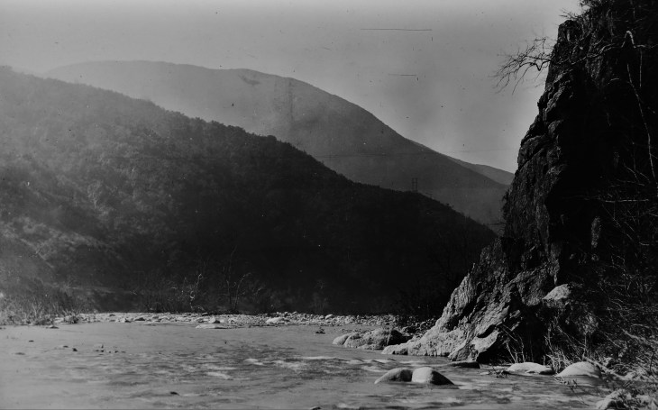 San Gabriel River bend ca. 1920s