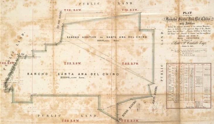 Chino ranch map