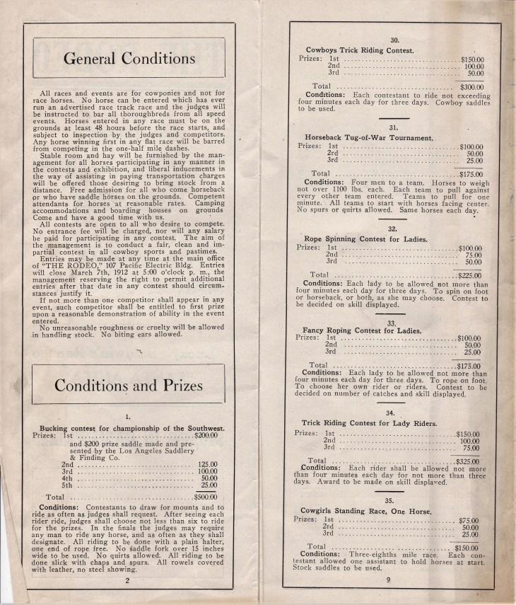 Rodeo Baldwin Santa Anita 1912 pp 3 6