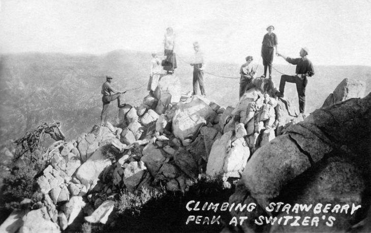 RPPC Climbing Strawberry Peak At Switzers 2013.35.1.1