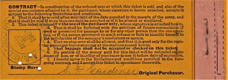 LA & Redondo ticket book contract