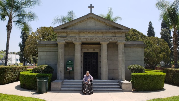 Barney Jackson mausoleum May2018