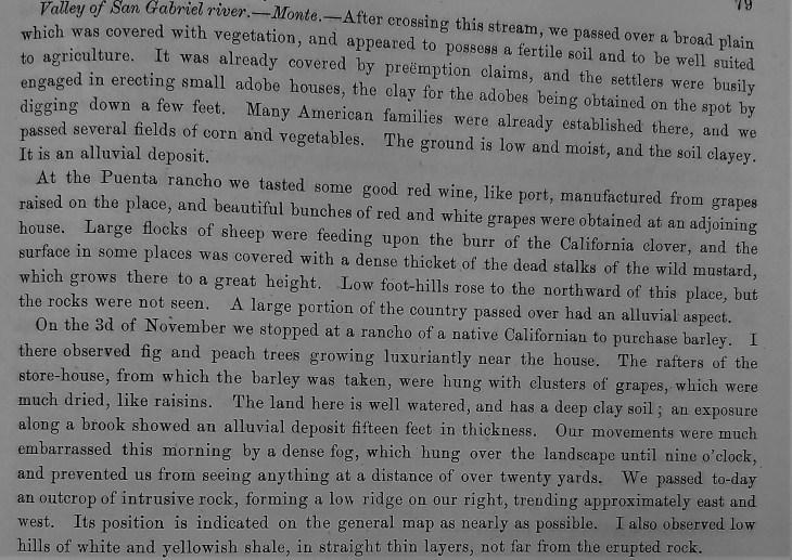 Puente area description 1853