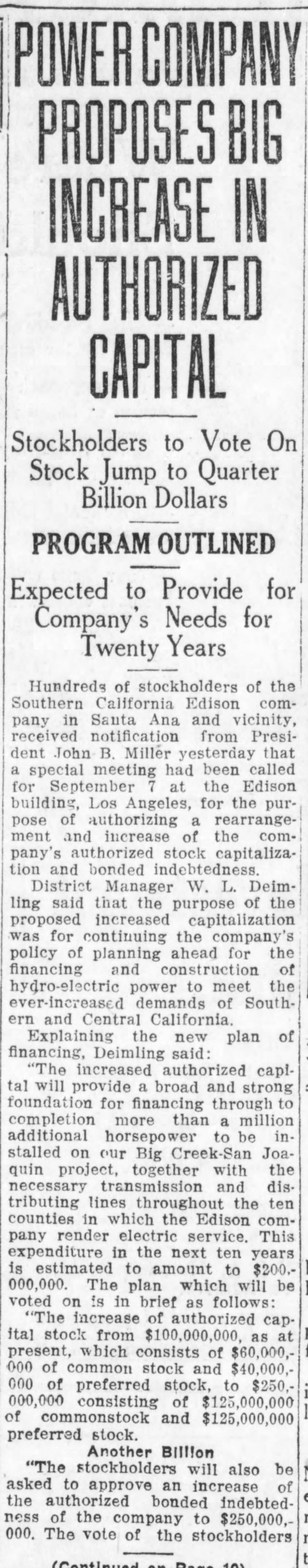 SCE bond issue SA_Register_Jul_26__1923_