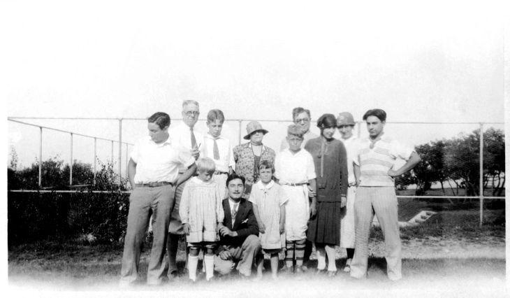 Temple Family In Massachusettes ca 1926 80.19.82.1