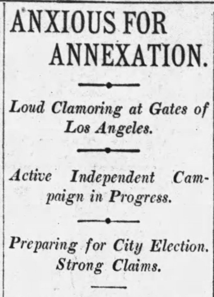 Annexation headline Times_Jan_15__1904_